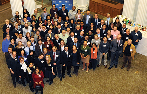 CUNY faculty researchers receptioni